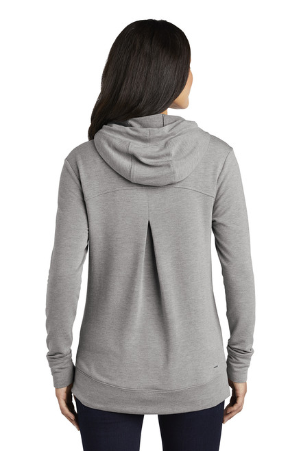 Ladies Luuma Pullover Fleece Hoodie ~ Petrol Grey Heather