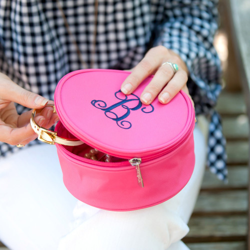 Jewelry Case~Hot Pink