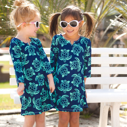 Girls' Tunic~Totally Turtle