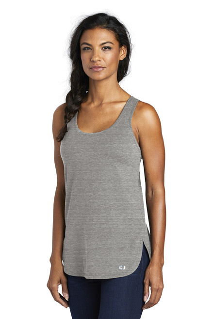 Ladies Luuma Tank ~ Petrol Grey Heather