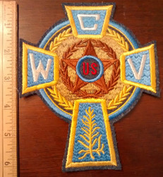 Celtic Cross Sweater Patch  (CWV 6 Inches)