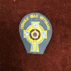Celtic Cross Cap Patch  (CWV 2.5 Inches)