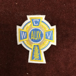 Auxiliary Cross Blazer Patch  (3 Inches)