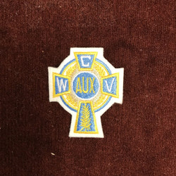 Auxiliary Cross Cap Patch  (2.5 Inches)