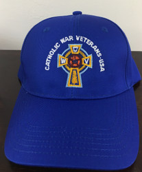 Baseball Cap  (Blue with White Lettering)