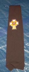 Necktie with CWV Emblem  (Black)