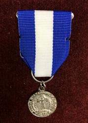 CWV Department Award Medal  (Silver)