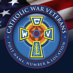 CWV Emblem Banner for Post Indoor/Outdoor Use 4 x 4 Feet