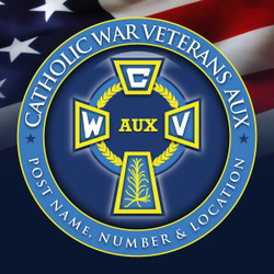 CWVA Emblem Banner for Post Indoor / Outdoor Use  4 X 4 Feet