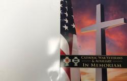 In Memoriam Folder for Deceased Member Certificate