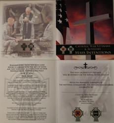 CWV  Mass Card for A Deceased Member