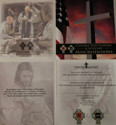 CWV Mass Card for a Non-Member