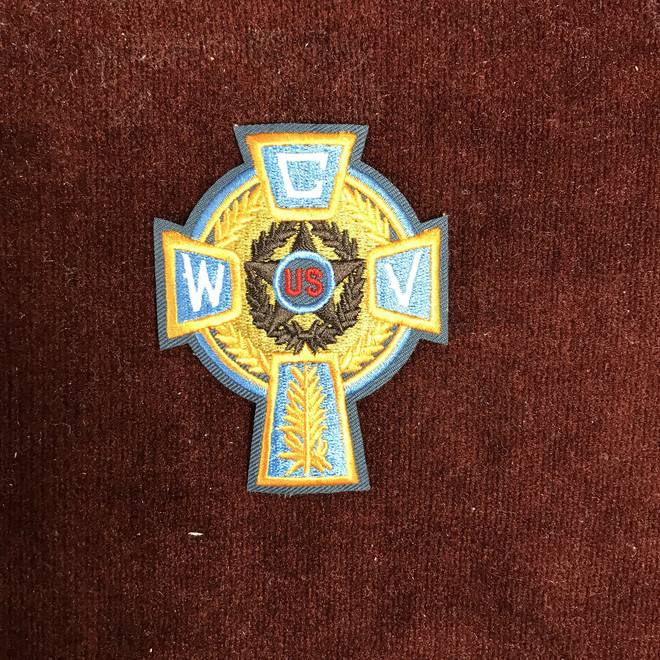 Celtic Cross Shoulder Patch  (CWV 3 Inches)