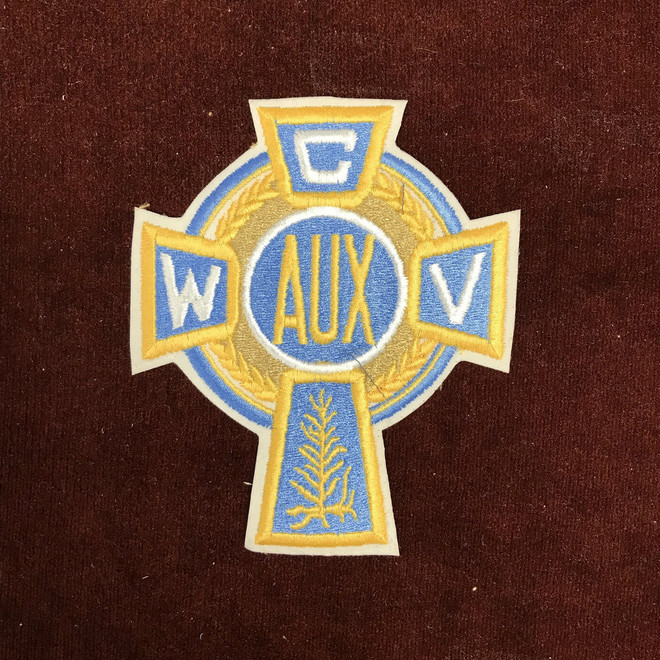 Auxiliary Cross Sweater Patch  (6 Inches)