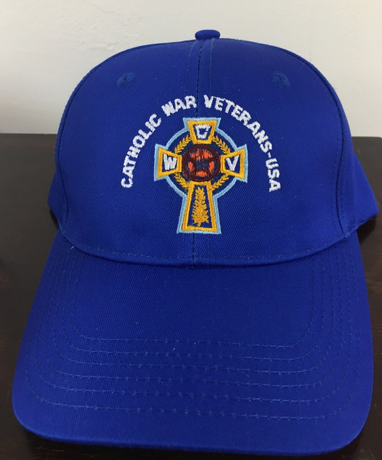 Baseball Cap  (Blue with White Lettering)