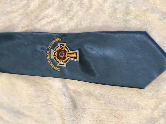 Necktie with CWV Emblem  (Blue)