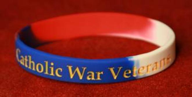 Catholic War Veterans Wristband
