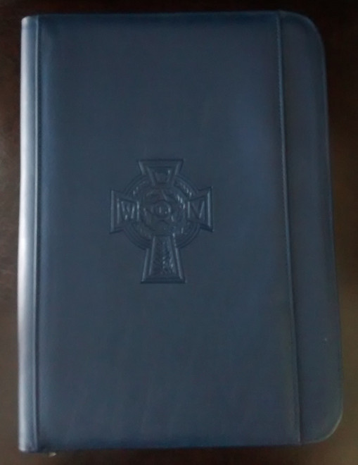 Catholic War Veterans Padfolio  (Blue)