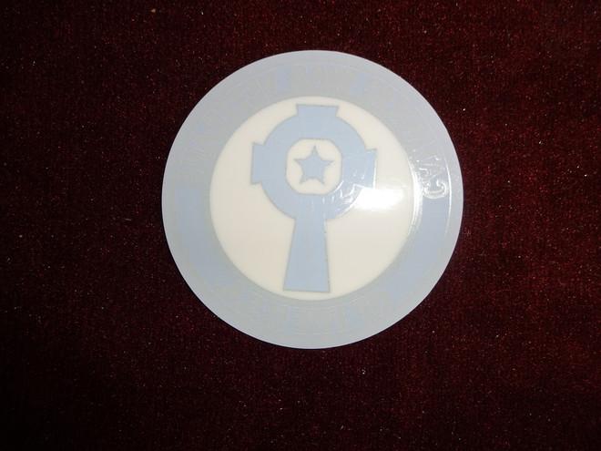 Catholic War Veterans Emblem  (Face-Down Decal)