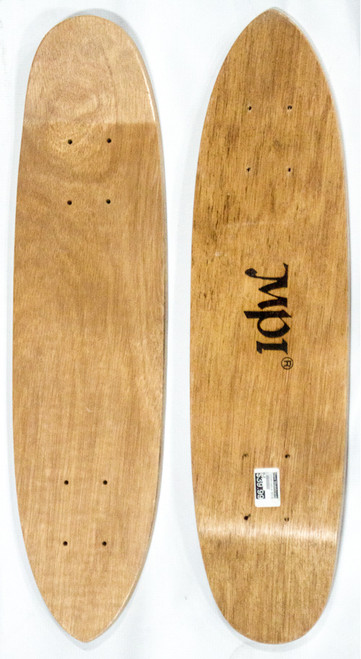 "This is a 70's era replica skateboard cruiser, ""Pointer"" model deck. This deck is made of 7PLYS of hard rock maple. It is 6 and 3/8"" wide and 25"" long. It has a clean classic shape just like the OG decks!"