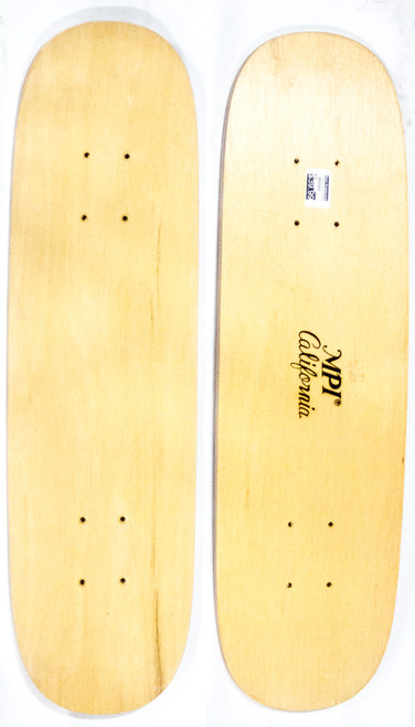 "This is a 70's era replica skateboard cruiser, ""TwinTail"" model deck. This deck is made of 7PLYS of hard rock maple. It is 7.25"" wide and 27.25"" long. It has a fun clean shape that has two tight clean tails to make the cruise as fun and ambidextrous  as possible!"