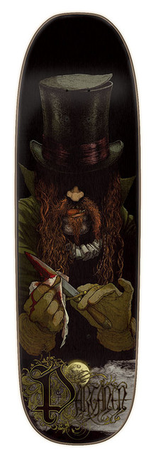 "The Partanen Maniacs deck is a traditional 7 ply skate deck thats 8.8"" inches wide with a standard popsicle shape and highly durable made by Creature."