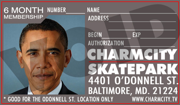 This is a money saving 6 Month Pass to the Charmcity Skatepark in Baltimore, Maryland.