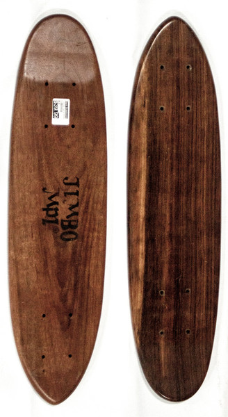 "This is a 70's era replica skateboard cruiser, ""Jimbo"" Model deck. This deck is made of 7PLYS of hard rock maple. It is 6"" wide and 23"" long. It has a clean classic shape just like the OG decks!"
