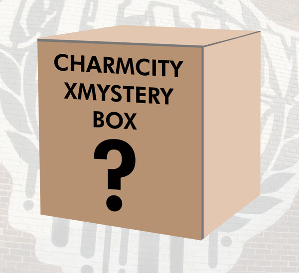 This is the Charmcity XMystery Box. A special Christmas Edition of our staple $75 Mystery Box loaded with various skate goods from a wide variety of top brands. The XMystery box is guaranteed to have at least $150 (or more) worth of goodies inside. Try one and see what you get!