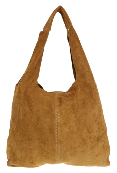Plain Open Shoulder Bag