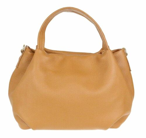 Bucket Genuine Leather Handbag