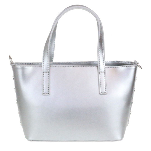 Winged Real Leather Handbag
