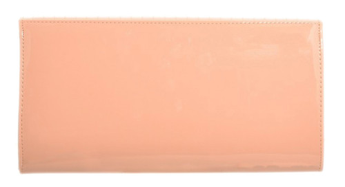 Quilted Oversized Patent Clutch Bag