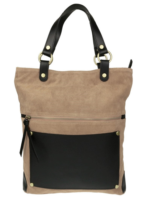 Italian Suede Leather Shoulder Bag