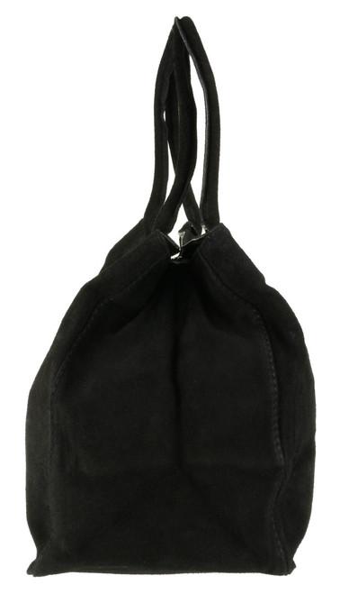 Expandable Italian Shoulder Bag