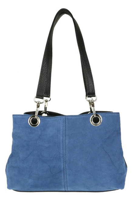 Italian Suede Shoulder Bag