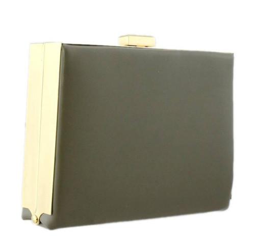 Neon Box Hard Case Clutch Bag