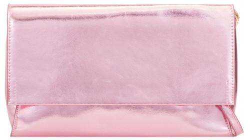 Metallic Plain Clutch Bag