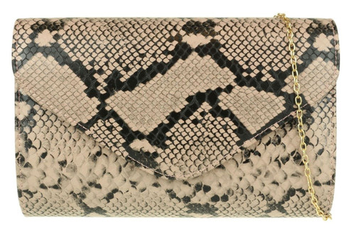 Retro Snake Skin Clutch bag