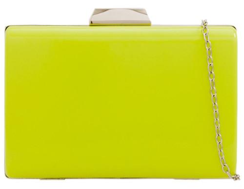 Glossy Case Clutch Bag