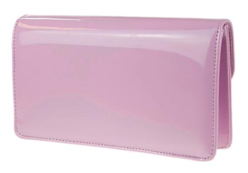 Metallic Frame Envelope Clutch Bag