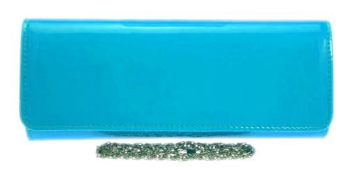Glossy Plain Patent Clutch Bag