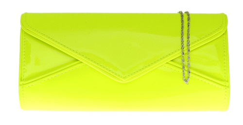 Oversized Glossy Clutch Bag