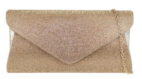 Retro Diamante Clutch Bag