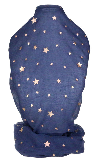 Rose Gold Big Star Scarf
