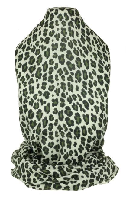 Leopard Stripes Print Scarf
