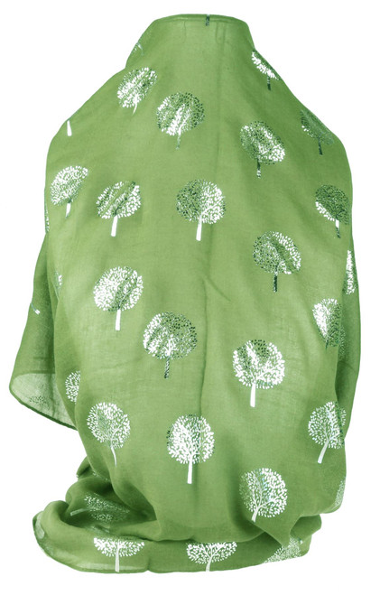 Glitter Mulberry Trees Scarf