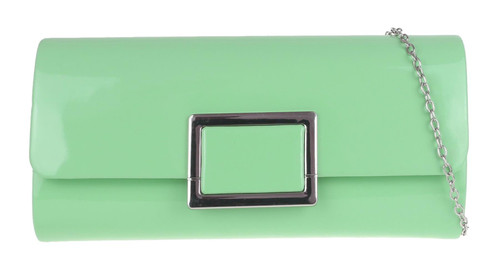 Womens Plain Frame Clutch Bag