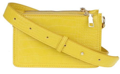 Womens Croc Mini Crossbody Bag