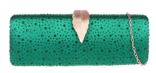 Ladies Diamante Clutch Bag